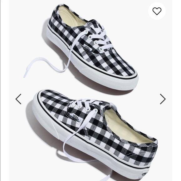Vans Shoes | Madewell Buffalo Check